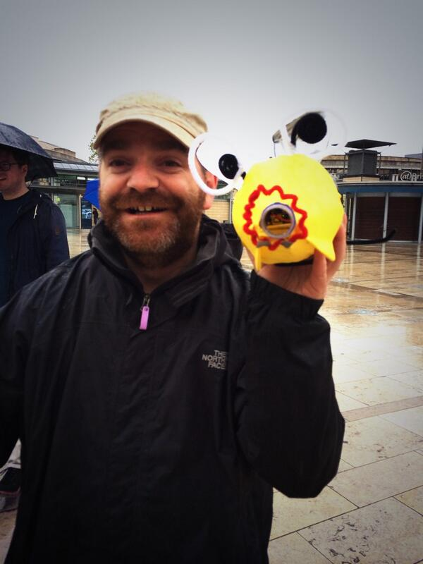 Even more joy #Happbee with @mattballsays #digiproducers http://t.co/QGWG2KOOsy