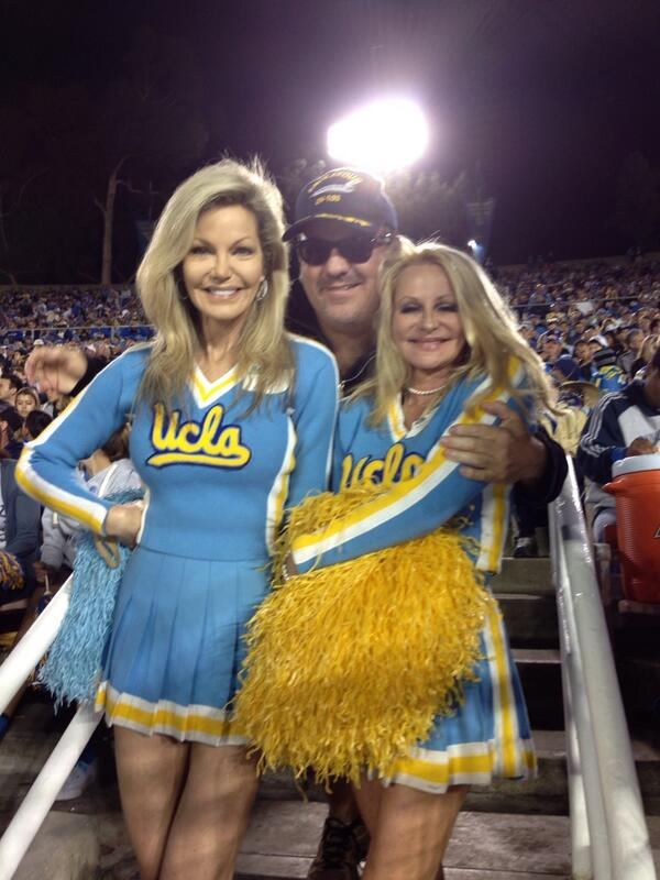 julie hayek on twitter quotucla homecoming game with former