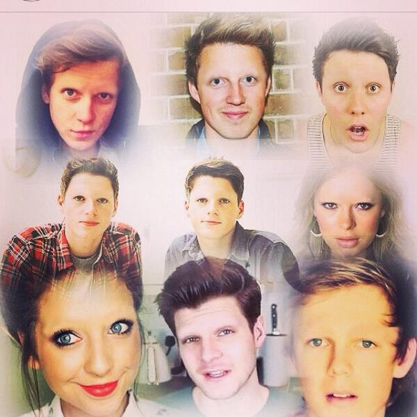 YouTubers with No Eyebrows