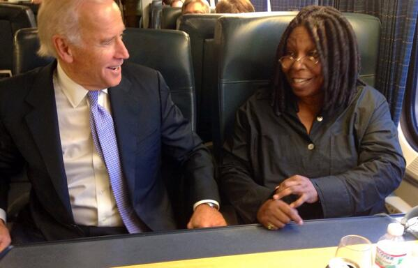 Whoopi Goldberg On Twitter On The Way Home From The White House
