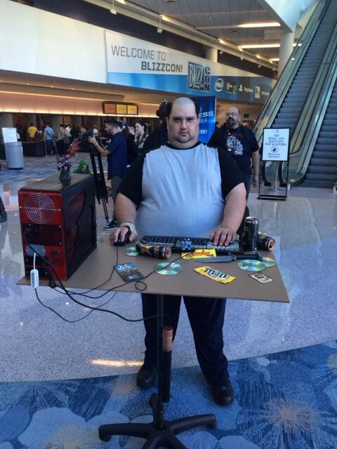 gamefront on twitter amazing south park world of warcraft fat guy cosplay at blizzcon http. Black Bedroom Furniture Sets. Home Design Ideas