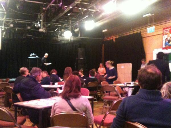 #makeshift13 Interest in new ideas for #Wolverhampton @ #Newhampton Arts centre today. http://t.co/b1fq0h0GII