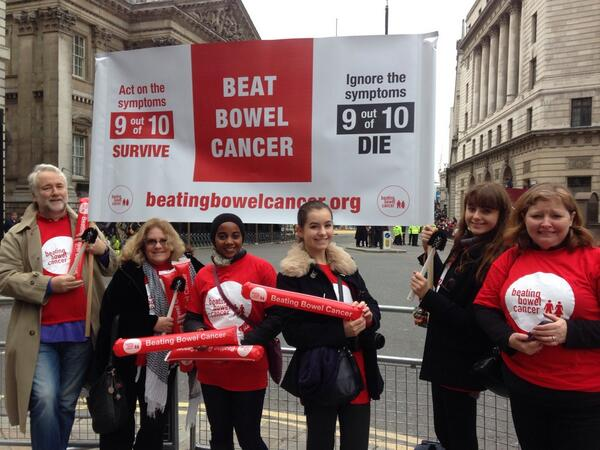We're ready and waiting for our float @bowelcancer #lordmayorsshow yay!! http://t.co/JBlDqWFkLb