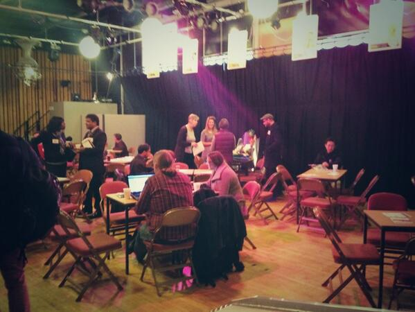 Getting ready for ideas pitching #makeshift13 http://t.co/utyHOyTHkQ