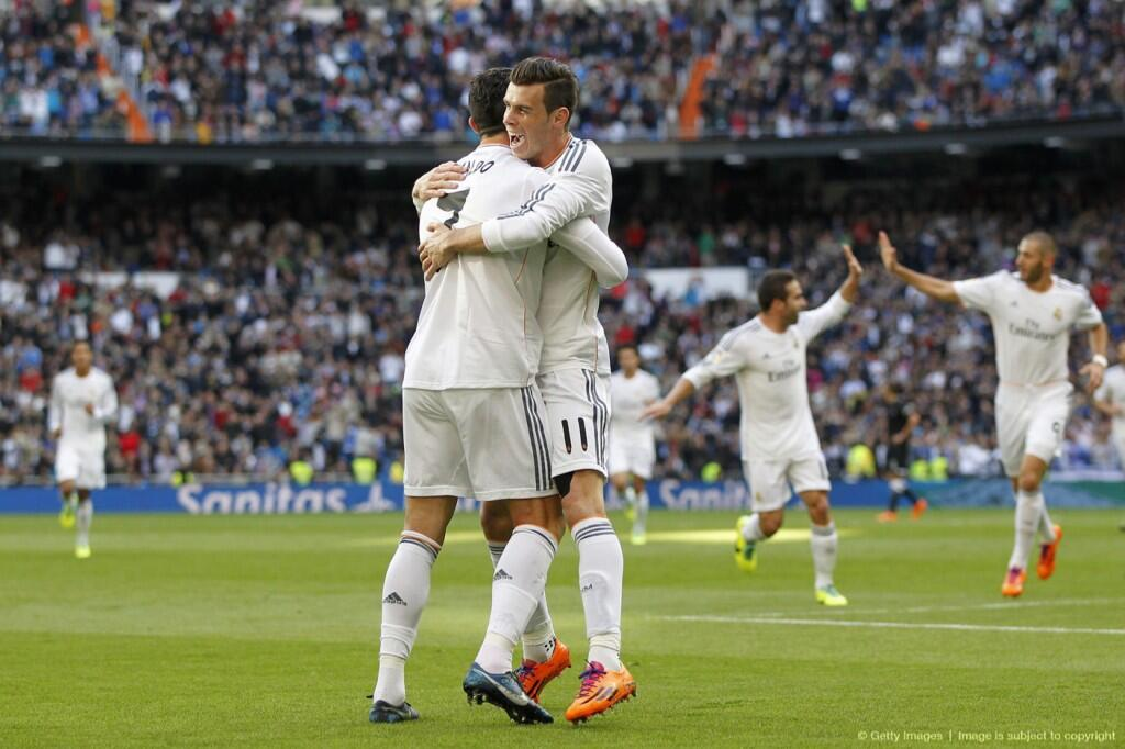 Why didnt Gareth Bale give Cristiano Ronaldo the match ball after Real Madrids 5 1 rout of Real Sociedad?