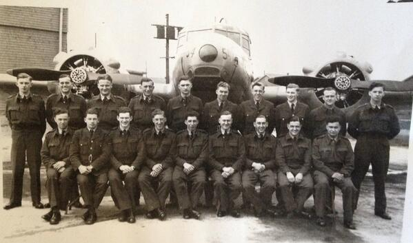 @ExRAFairman My Grandfather, his crew and their plane during WWII http://t.co/PRj3RrBQk5