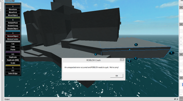 James Onnen Quenty On Twitter Curses Roblox Studio - roblox my game crashes when i leave the game