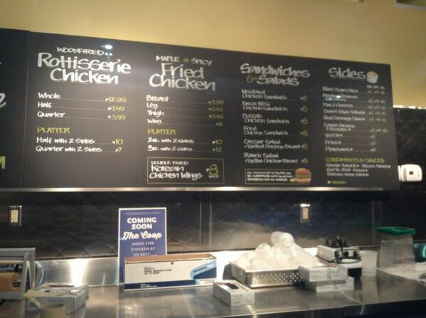 Snack Decision On Twitter Menu Up At Whole Foods Clarendon Takeout