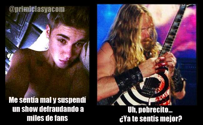 foto show suspension justin bieber
