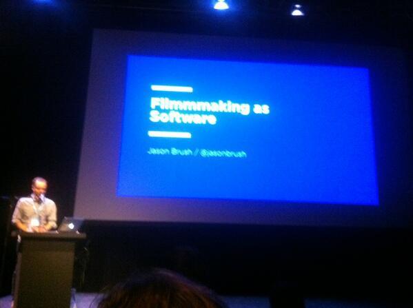 #IdfaInteractive @jasonbrush quoting Walter Benjamin: technologies mediate and inform experiences of art http://t.co/qrP4vjPbyL