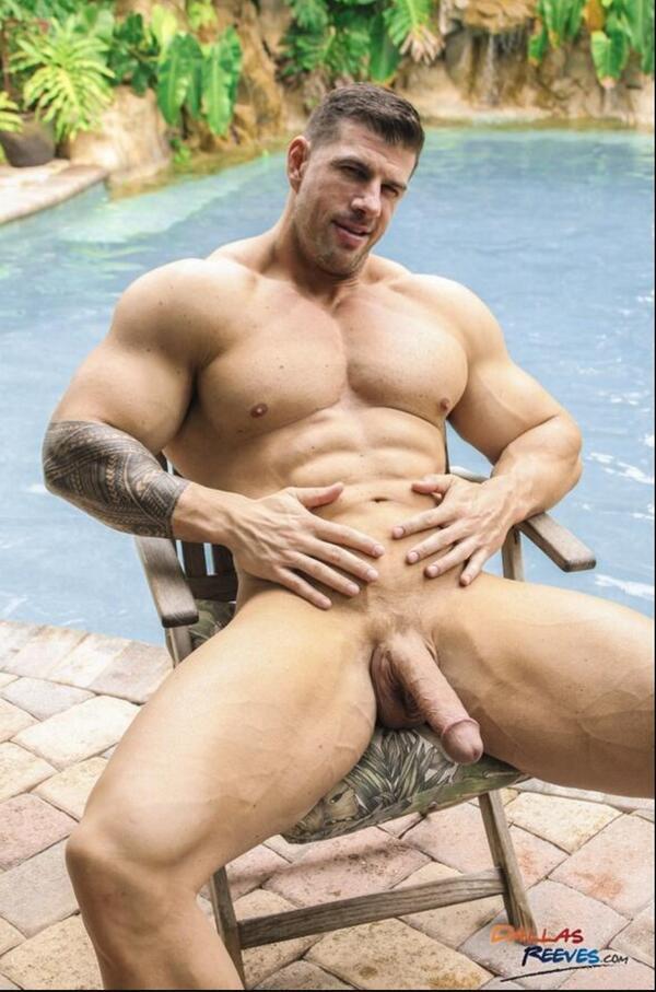 Дрочево мускулистых парней