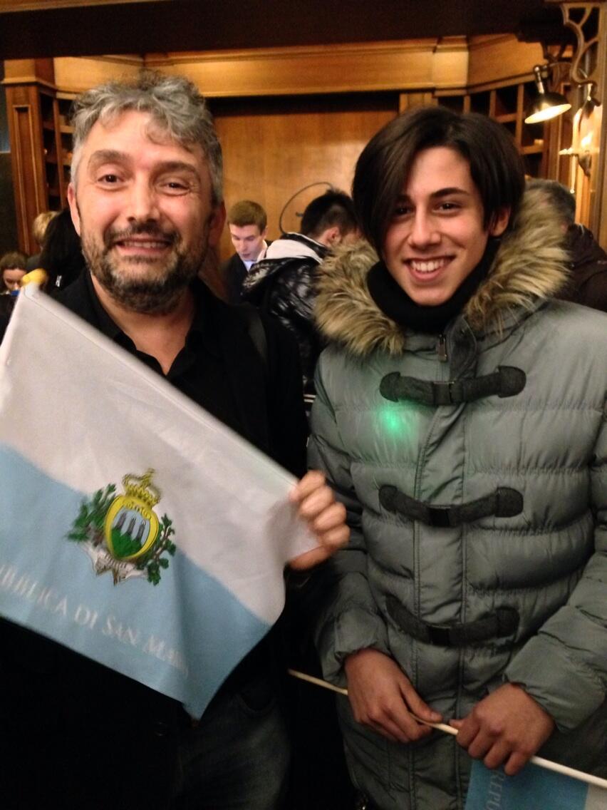 Michele Arrives In Kiev
