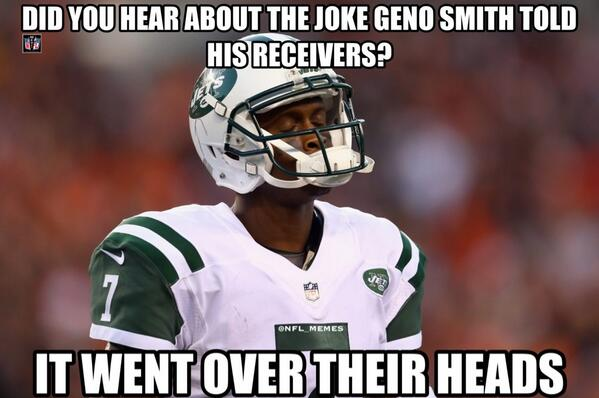 Image result for geno smith meme