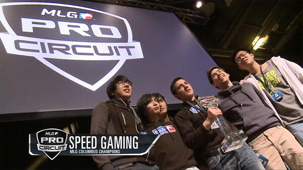 Speed Gaming claim @MLG #MLGColumbus @DOTA2 championship and $68.5k after defeating Team DK 2-1! http://t.co/KS8pDUB9rG