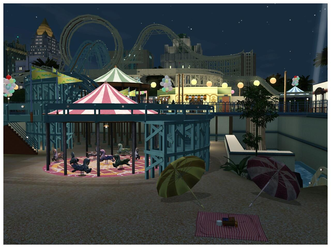 Yay - A new City world - Roaring Heights :D — The Sims Forums