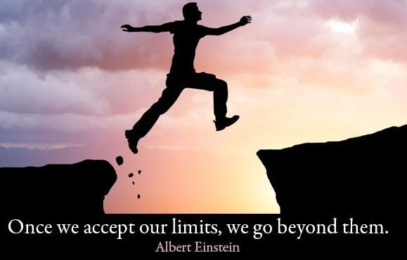 Twitter / OmarAlSalhi: Once we accept our limits, ...