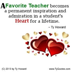 Ty Howard Seminars On Twitter A Favorite Teacher Becomes A