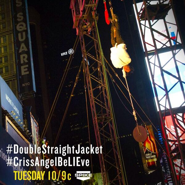 @CrissAngel leaves us hanging until tomorrow @SpikeTV 10/9c #DoubleStraightJacket #CrissAngelBeLIEve http://t.co/FOIuD5Ch8P