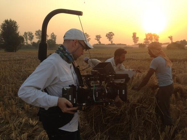 .@Zachzamboni films golden hour in #Punjab #partsunknown http://t.co/xMlbRbdkhM