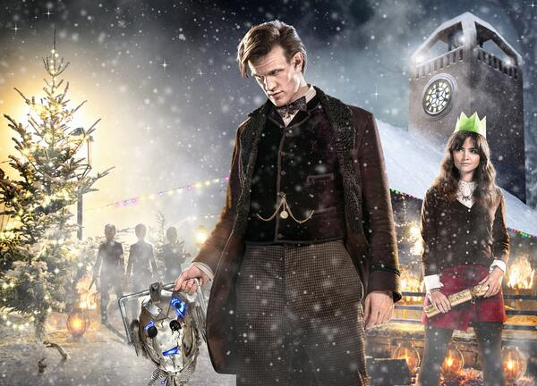 We can confirm that the title of the @bbcdoctorwho Christmas Special is 'The Time of the Doctor'. #DoctorWho http://t.co/N2ni2V4qjO