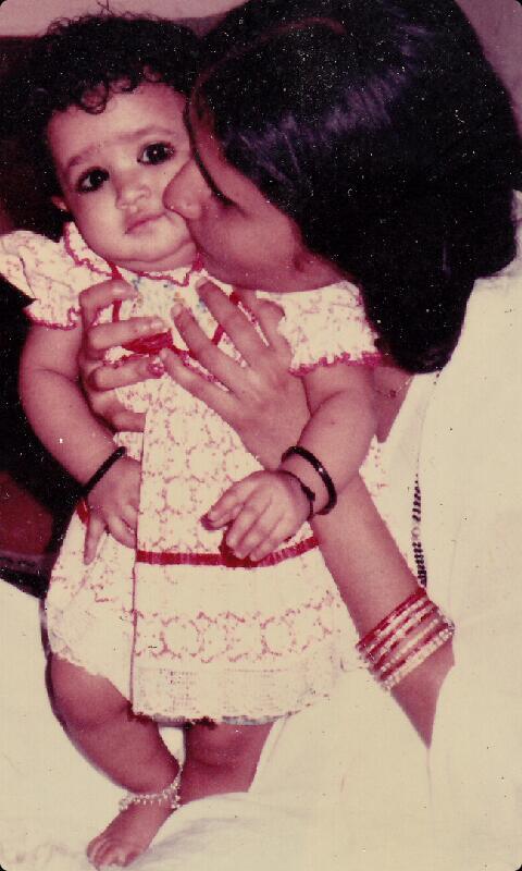 Baby Sana Amin Sheikh /Sana Sheikh childhood picture/ child pic