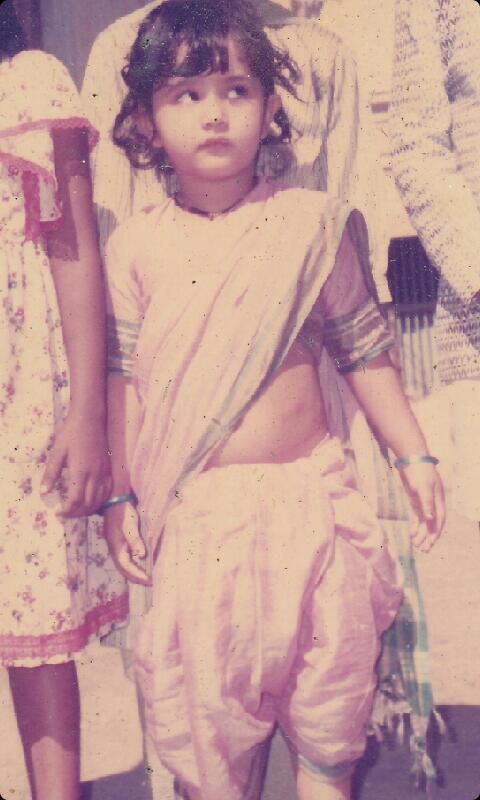 Sana Amin Sheikh /Sana Sheikh childhood picture/ child pic