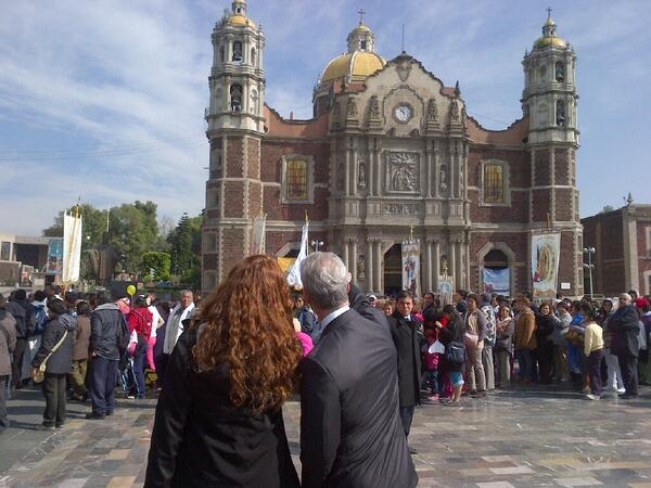 Marveling at the Basilica of Our Lady of Guadalupe in our Sister City. http://t.co/POz9BnlsH6