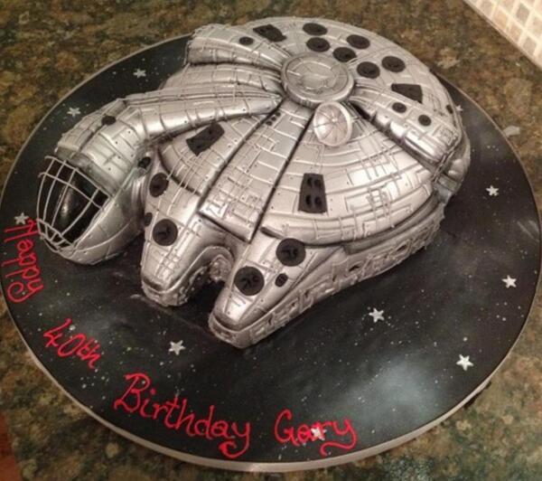 Gary Mullen On Twitter My Birthday Cake From Last Week Made By - Birthday cake barbara