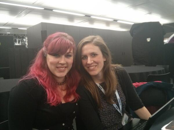 """""""@microchicks: The Microchicks gearing up to talk at @300_seconds any minute now! http://t.co/27o1dCnHx0"""" #300secs"""