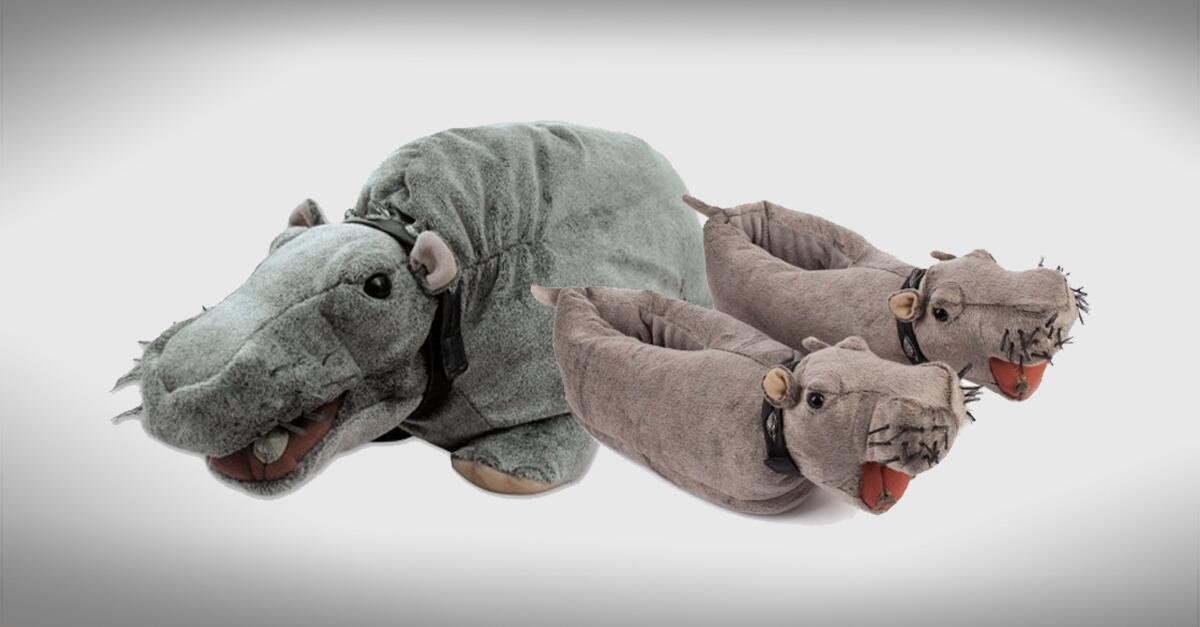 Farting Hippo Slippers – Quotes of the Day