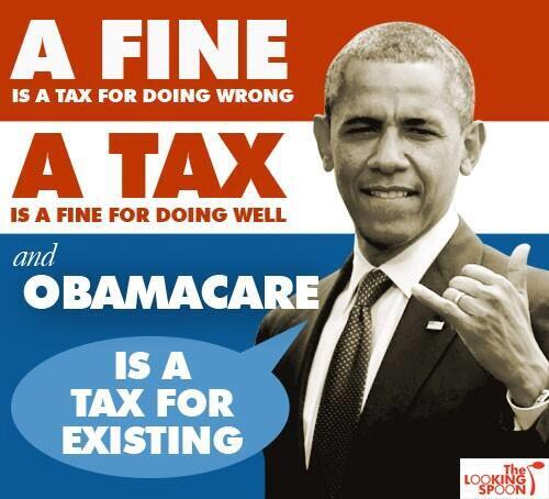 Obamacare is a tax for existing. #tcot http://t.co/J6JF1iYcvs