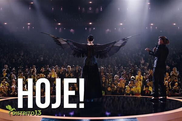 HOJE estreia Jogos Vorazes: Em Chamas! Corra para o cinema mais próximo!  http://t.co/qoI0MUtVIa http://t.co/R1RyamDdBy
