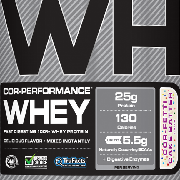 Twitter / Cellucor: COR-Fetti Performance Whey ...
