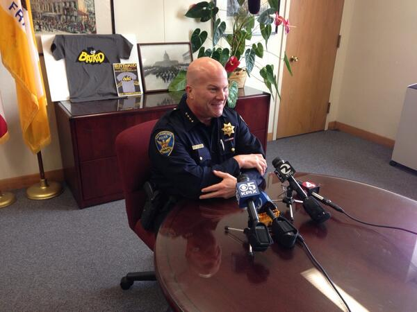 """This has turned in to a full blown phenomenon,"" @sfpd Chief Suhr on #SFBatKid @kron4news http://t.co/E6a8QVmINB"