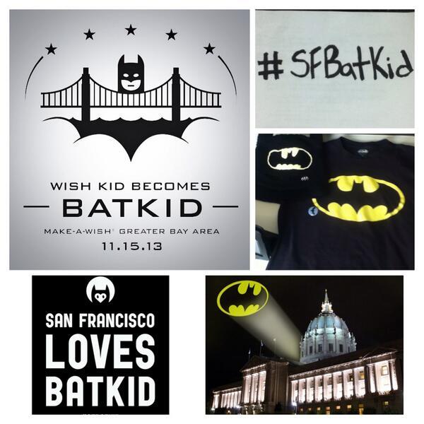 I am ready for tomorrow! Excited! Go BatKid! #SFBatKid #SFGothamCity #Miles #makeawish @PenguinSF @pilarwish @SFWish http://t.co/klSmJW0VBE