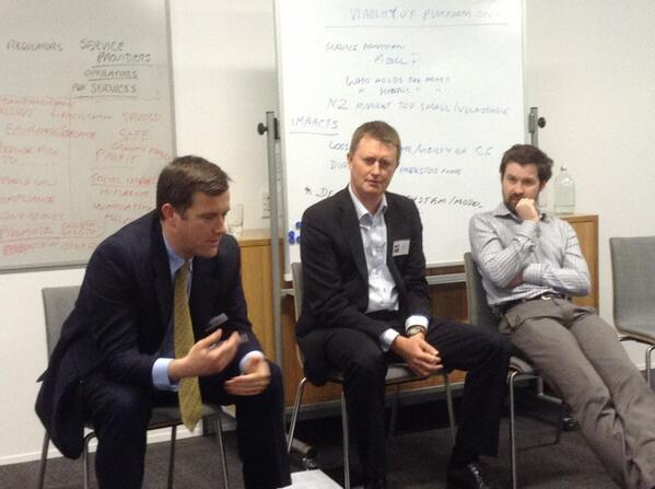 Our legal/regulatory panel Chris @BuddleFindlay Brad ChapmanTripp & Jason @MBIEgovtnz on #nzcrowdfundingregs #PacCFS http://t.co/3n0zvbzNyf