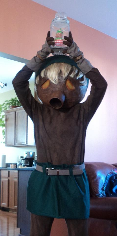 Zelda Universe On Twitter Cosplay Feature Of The Day Deku Link
