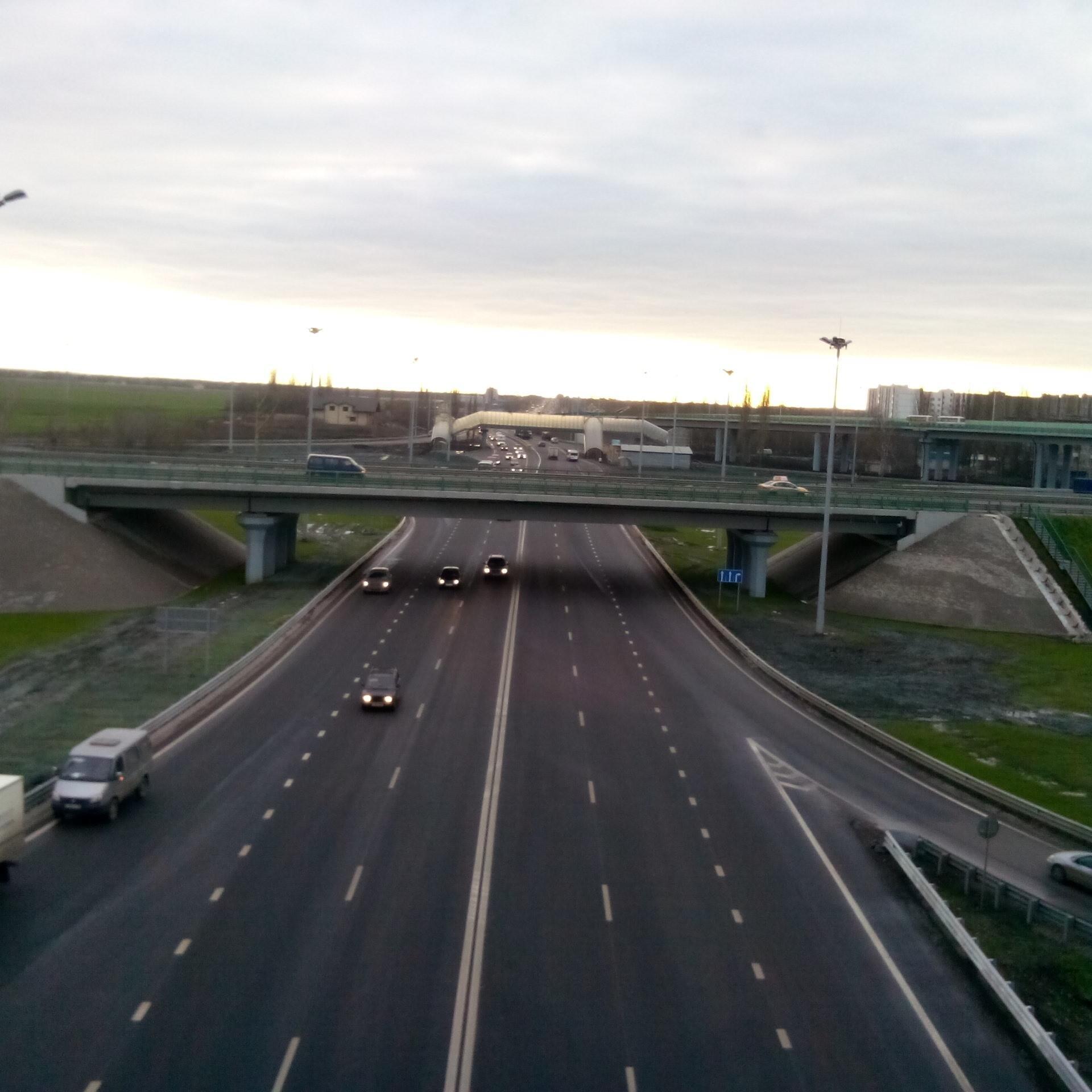 М4 ДОН 517 км Воронеж развязка Воронежская область 15.11.2013