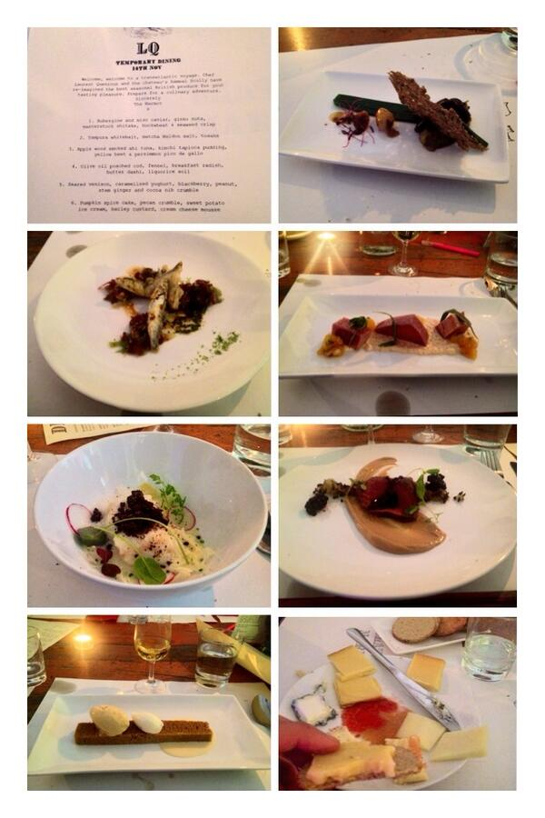 Seven course tasting menu @chateaumarmot @grub_club with some beautifully presented dishes and unusual flavours! http://t.co/1BL8NvmrCC