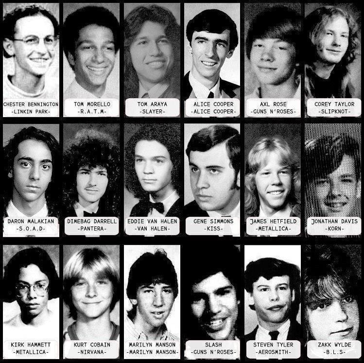 rock-and-roll-yearbook-photos