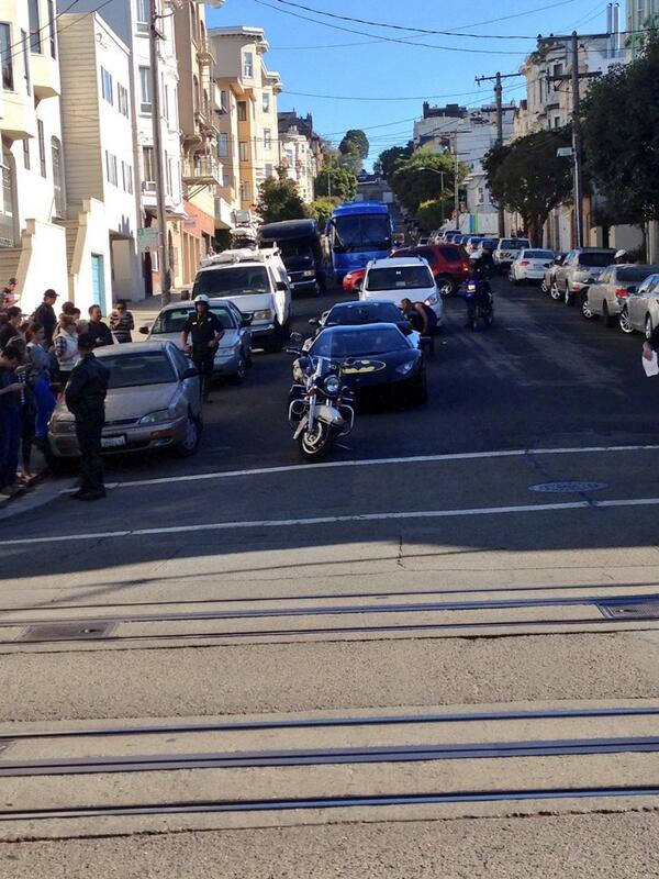 The batmobile has been sighted!  @KQEDPop #kqedpop #batkid http://t.co/tH2C7psF6S