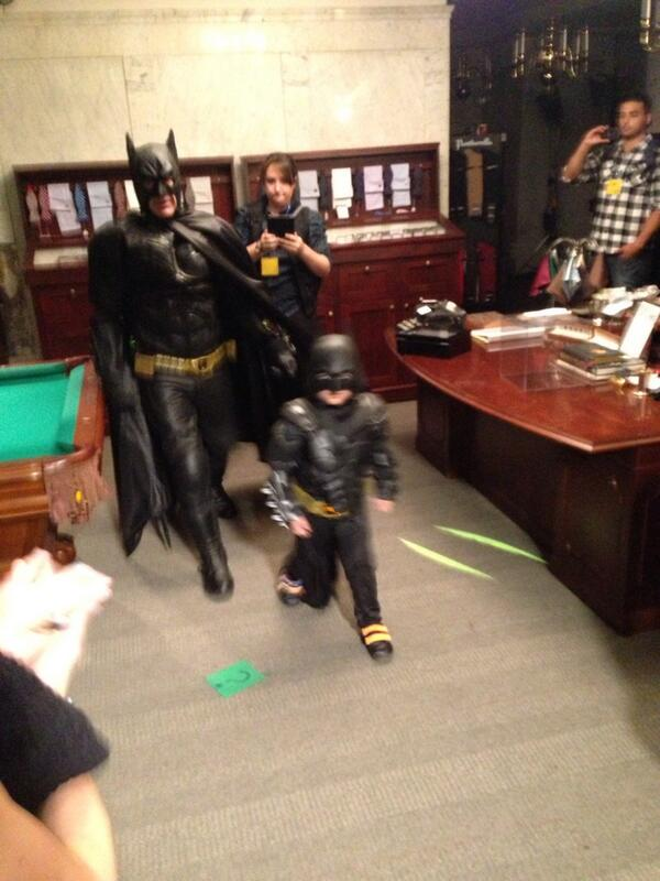 Here comes the #SFBatkid to stop the robber!!!! http://t.co/yUq0IA2mwc