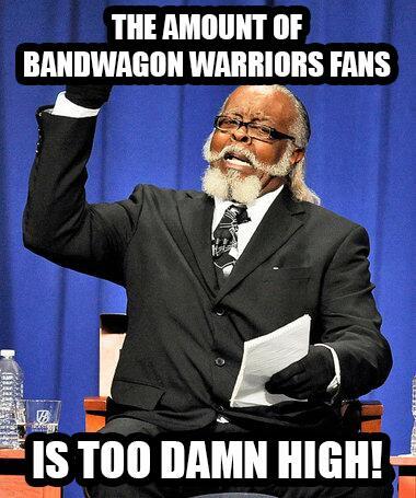 Will Spliff On Twitter At Sportsnation The Warriors Bandwagon Is
