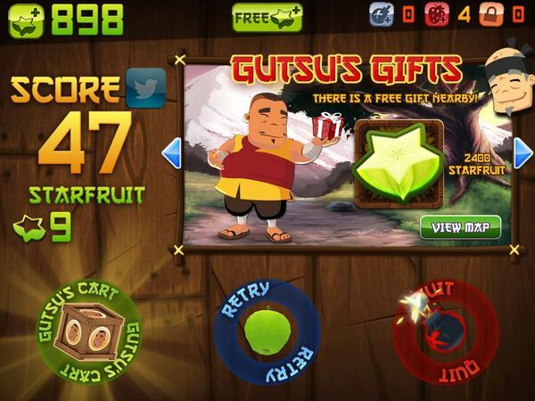 I just sliced 47 fruit in Classic Mode on @FruitNinja for iPad! http://t.co/J54SBJM1Ru http://t.co/BVjkPBcaWK