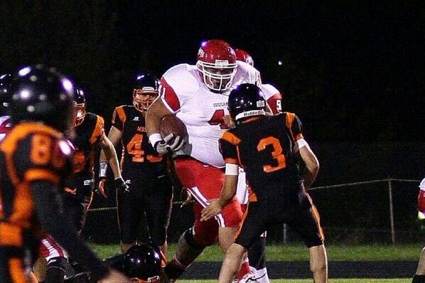 High School Football Player Tony Picard May Be 'Biggest Running Back In The World' At 6'4, 400 Lbs.