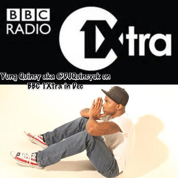 """@DJQuincyuk: LISTEN TO YUNG QUINCY ON @1xtra IN DEC @WeLoveChoiceFM @ltsveryown @RikyBains1 @DJTarget @VIPBISH http://t.co/agOXwENHRF"""