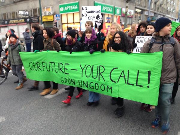 """Our future--your call"" #cop19 http://t.co/RPP2EihQ5H"