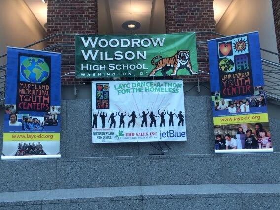 Join us this morning! Come to the LAYC  Dance-A-Thon for the Homeless at Woodrow Wilson High School!! -NC http://t.co/rXeelvRzJG