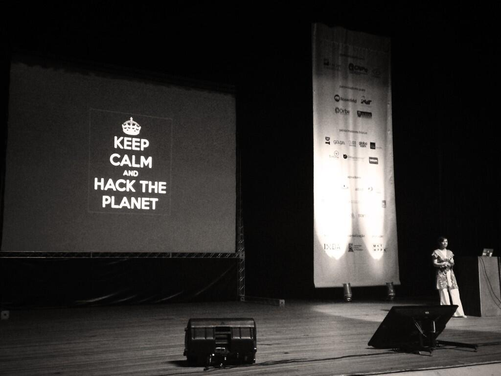 Keep calm and hack the planet