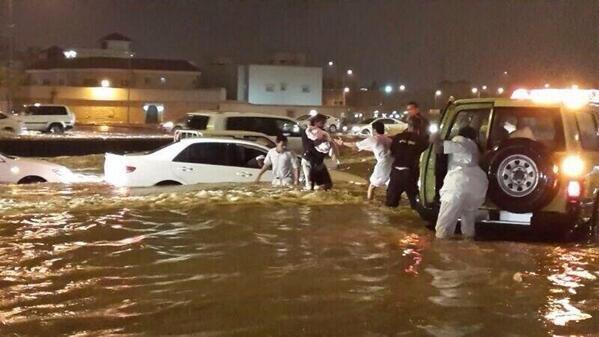 سيول امطار الرياض 1435 امطار